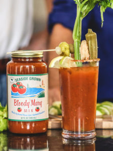 Original Bloody Mary Mix Before and After